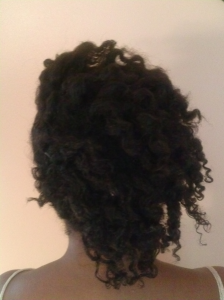 back of flat of flat twist out
